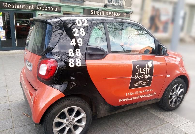 "STICKAGE SMART ""Sushi Design"" Nantes 44"