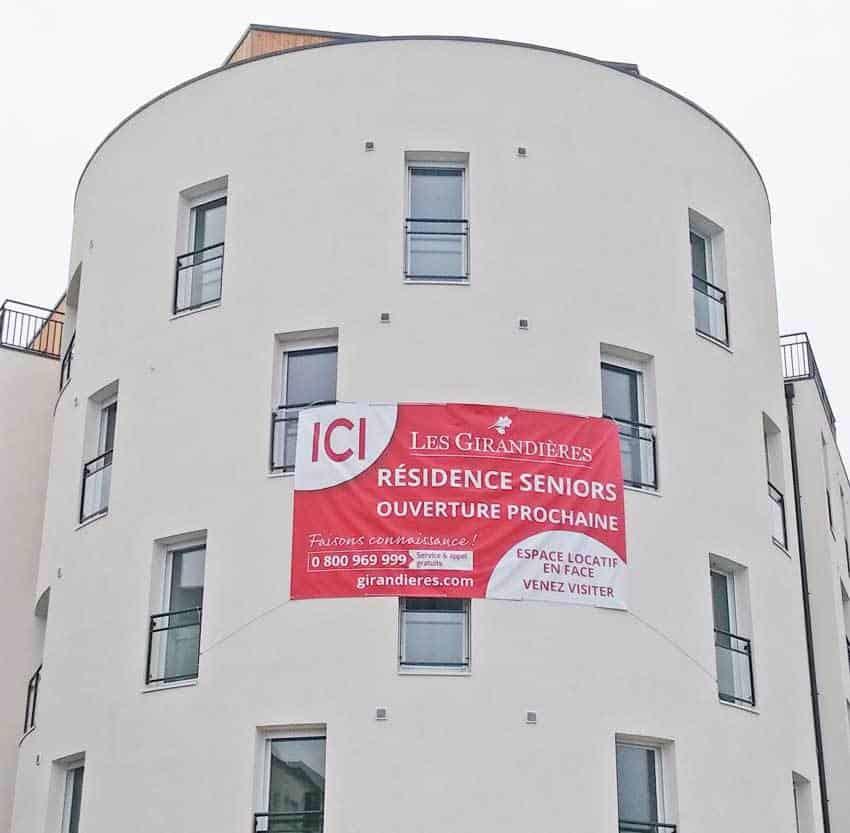 Bache promotionnelle immobilière – Nantes