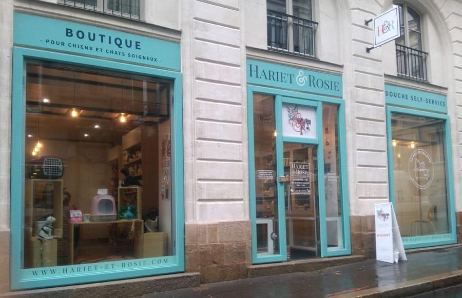 Devanture Hariet & Rosie (Rue Voltaire Nantes)